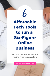 6 Affordable Tools to run a coaching and online course business